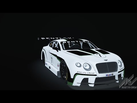 Bently Continental GT GT3 test drive- Assetto corsa