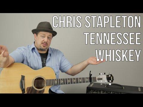Chris Stapleton - Tennessee Whiskey - Guitar Lesson - How To Play Super Easy Beginner Acoustic