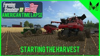 FS17 American Multiplayer Timelapse #1 Welcome to Mills County! (Mills County Time Lapse)