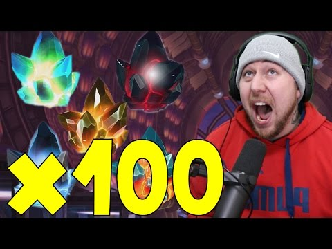 OPENING 100 CRYSTALS 4 STAR Hunting PART 220 | MARVEL: Contest of Champions (iOS/Android)