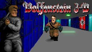 Wolfenstein 3D (1992) -  EPISODE 1 GAMEPLAY