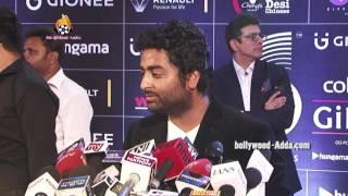 Singer Arijit Singh LIVE Performance Tum Sath Ho - GIMA Awards 2016 - Global Indian Music Academy