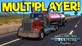 Multiplayer Hauling & Upgrading My Truck! - American Truck Simulator Multiplayer