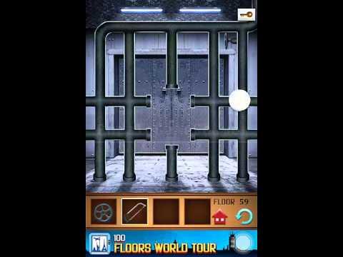100 Floors Annex Level 59 Walkthrough Guide Youtube