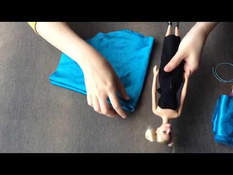 Barbie Prenses Elbisesi Yapımı/Dikimi ( How to make a Barbie dress)