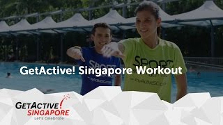 National Day Song 2016: Tomorrow's Here today - GetActive! Singapore workout