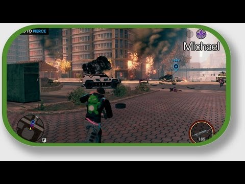 Let's Play Saints Row The Third With Geoff  &  Michael - Part 7