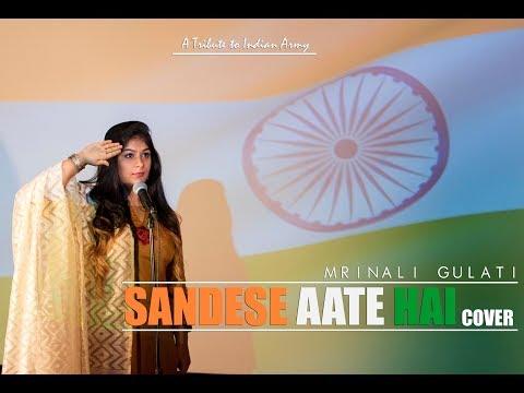 Sandese Aate Hai Cover | Mrinali Gulati | Border |Sonu Nigam,Roop Kumar Rathod | Anu Malik