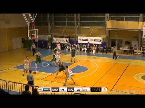 Grosbasket - Union Olimpija 56:64 (1. krog, Liga Telemach za prvaka, 25.3.2015) - Highlights