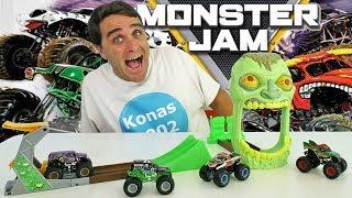 Monster Jam Zombie Madness Playset! || Toy Review || Konas2002