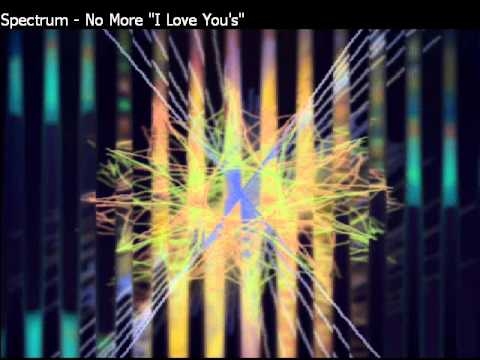 Spectrum - No More I Love Yous Annie Lennox instrumental cover...