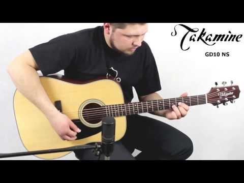 Takamine GD10 NS :: Demo, Soundcheck