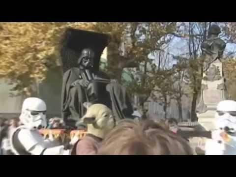 Darth Vader Enters Ukraine Election: Ukrainian vote attracts host of Star Wars candidates