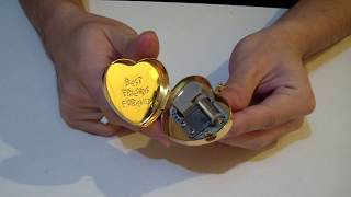 Undertale Heart Locket Music Box