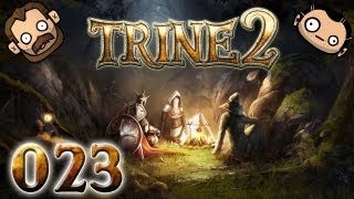 Let's Play Together Trine 2 #023 - Der mühsame Kampf gegen Tentakel [720p] [deutsch]