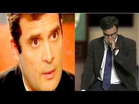 Rahul Gandhi Interview by Arnab Goswami (definitive Congress version)