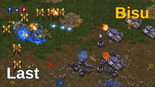 When your strategy doesn't work out how you expect - Bisu vs Last - Starcraft Remastered