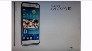 Samsung Galaxy S3 LEAKED Official Picture? Edge-to-Edge, New Design, Camera Button March 2012