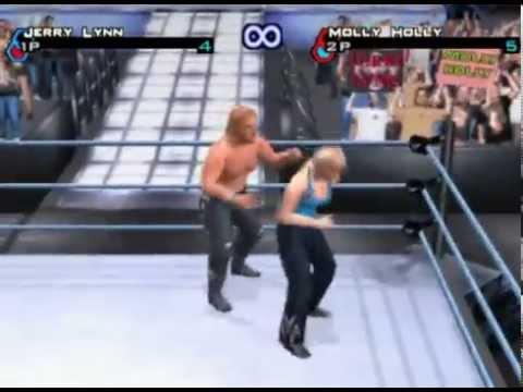 WWE Smackdown! 3: Molly Holly vs Jerry Lynn thumbnail