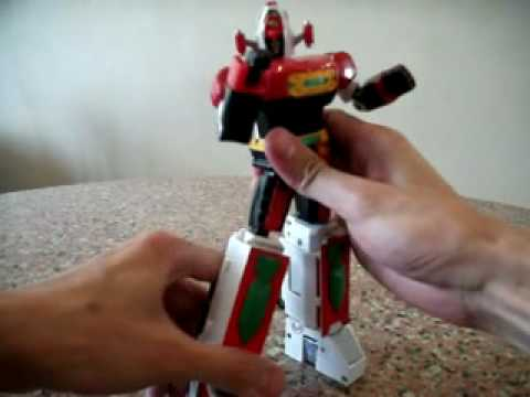 Bandai Soul Of Chogokin Gx-43 Daimos Review video