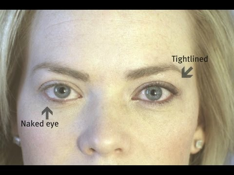 How To Tightline Your Eyes: Shortened