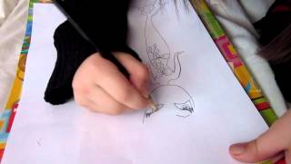 How to draw a mermaid by Dita