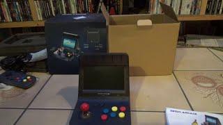 Le petit monde de YellowMan -  19 - Déballage d'une Retro Arcade RS-07
