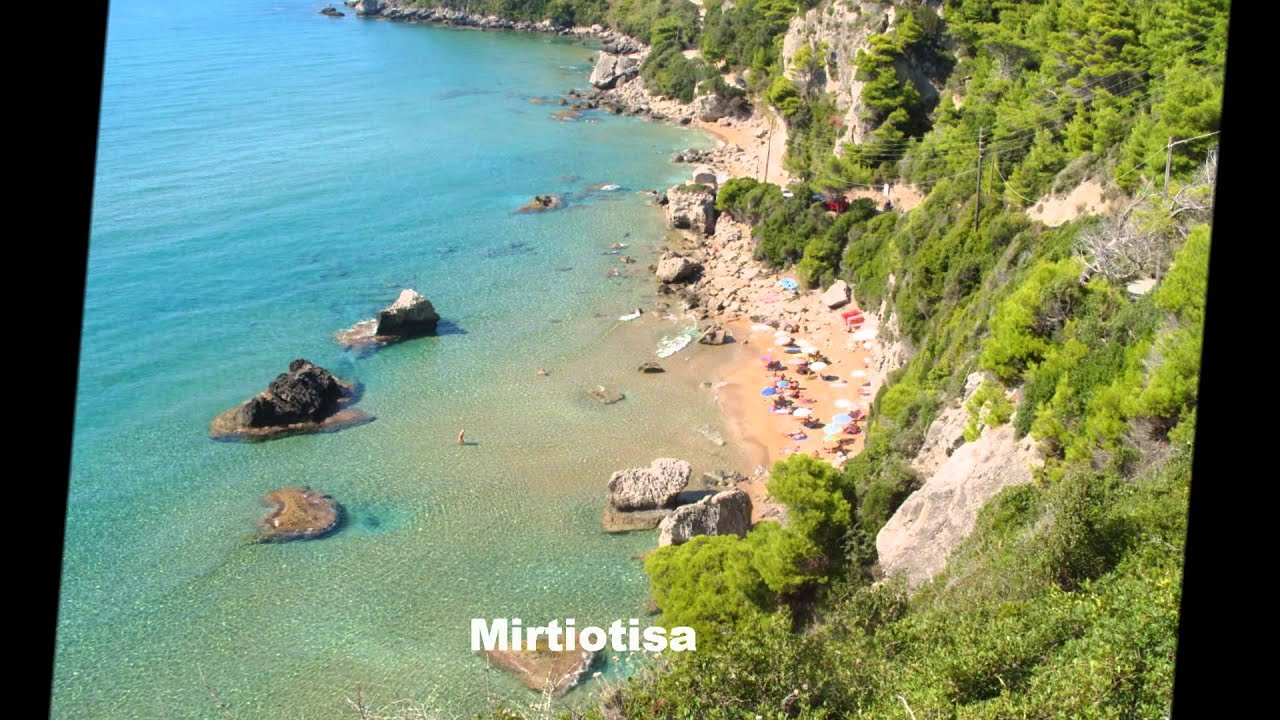 Most Beautiful Beaches In Corfu Island