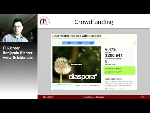 Einführung Diaspora Webinarreihe Soziale Netzwerke Vortrag 2011