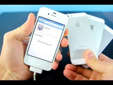 Official iOS 6.0.1 Released! iPhone 5/4S/4/3Gs iPod Touch 5G/4G & iPad 4/3/2/1 & Mini Update!