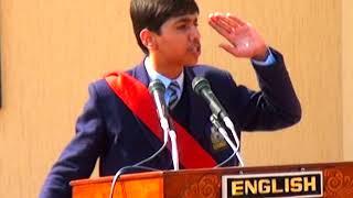 English Speech on Education student of Multan Public School & College in Sadiq Public School
