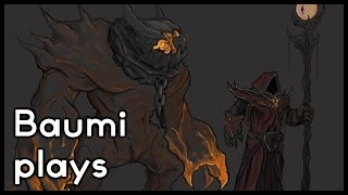 Dota 2 | LEVEL 1 ROSHAN AND SUPER SLOWING!! | Baumi plays Warlock