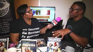 Time out with TaLynn Kel with Jarvis Sheffield at OnyxCon Sankofa