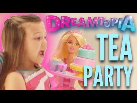 Tea Party with Barbie® Dolls in Barbie™ Dreamtopia Sweetville | Barbie