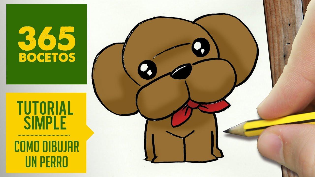 Como Dibujar un Perro Paso a Paso Para Niños Como Dibujar un Perro Paso a