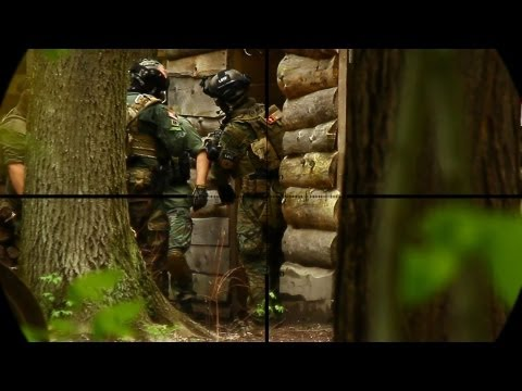 Airsoft Sniper Series Sniping From a Hide
