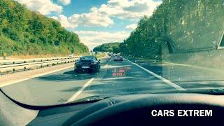 Porsche 911 Convertible (991/996) VS 2010 BMW X6 xDrive40d E71 250 KM/H On German Autobahn