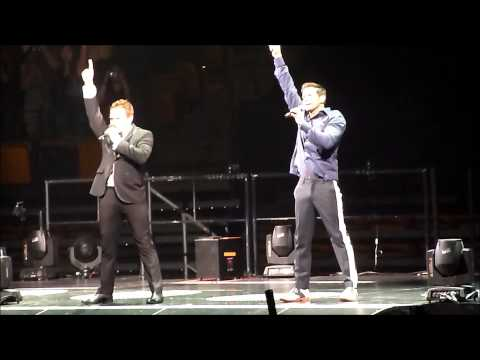 98 Degrees -Una Noche /Girls Night Out - TD Garden Boston 6-1-13