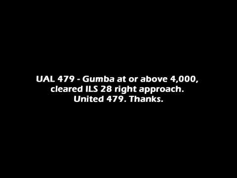 United 479 Emergency Landing KSFO