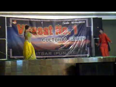 Main Nagin Tu Sapera By Cute Dancer & Partner Punjabi Style 24 April 2012 video
