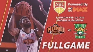 Mono Vampire vs Wolf Warriors   FULL GAME   2018-2019 ASEAN Basketball League
