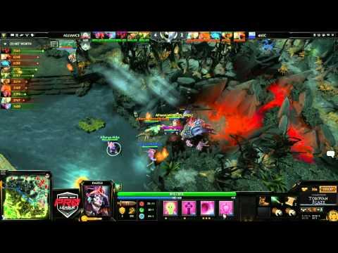 Alliance vs 4ASC Game 1  joinDOTA MLG Pro League Season 2  TobiWanDOTA BlazeCasting