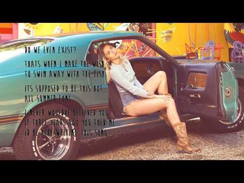 Miley Cyrus - Malibu (Audio) LYRICS ON SCREEN