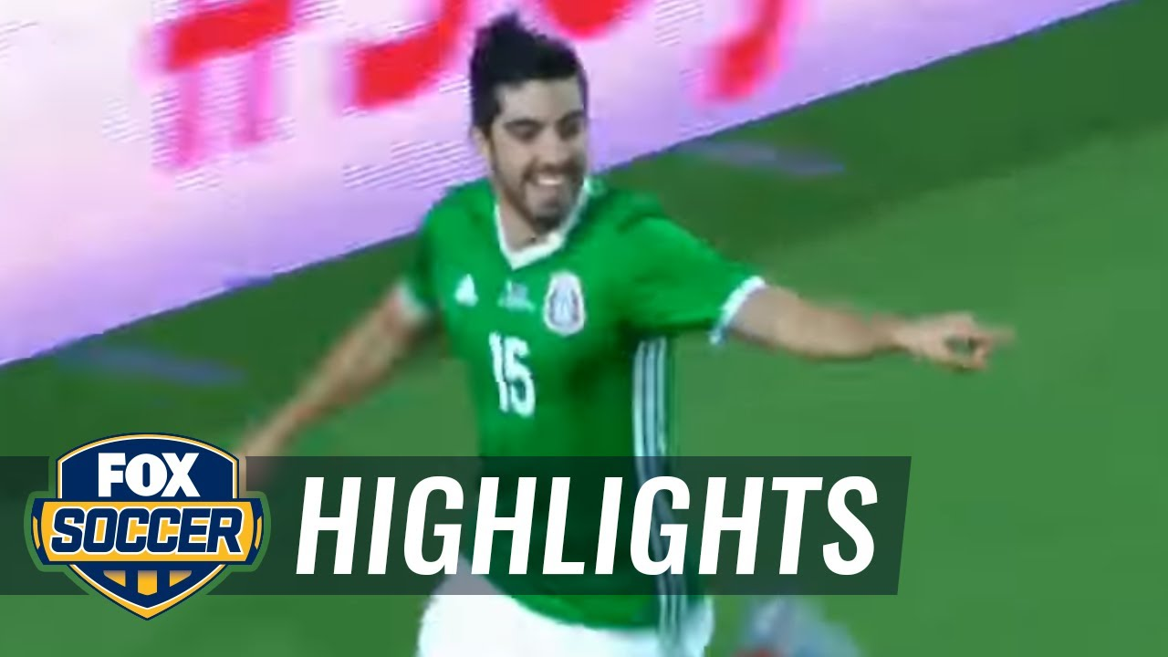 Rodolfo Pizarro gives Mexico an early lead vs. Honduras | 2017 CONCACAF Gold Cup Highlights