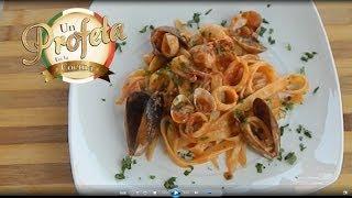 Pasta con frutos de mar
