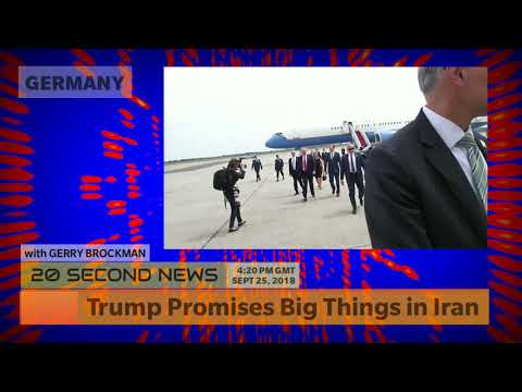 Trump Promises Big Things for Iran Soon - Germany Breaking NEWS Today