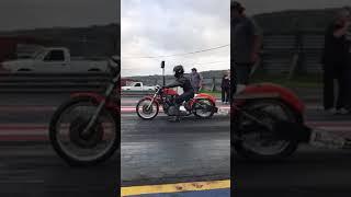 1969 Harley Davidson sportster xlch drag bike 1/4 mile pass