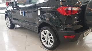 Ford Ecosport 2019 màu đen bản cao cấp