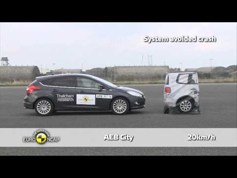Ford Focus - Euro NCAP 2013 AEB Test