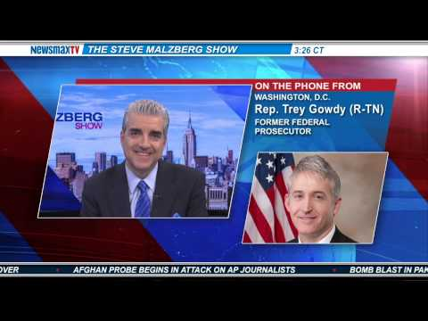 Newsmax: Trey Gowdy to Eric Holder: Prosecute Lerner, Prove You're a Real AG